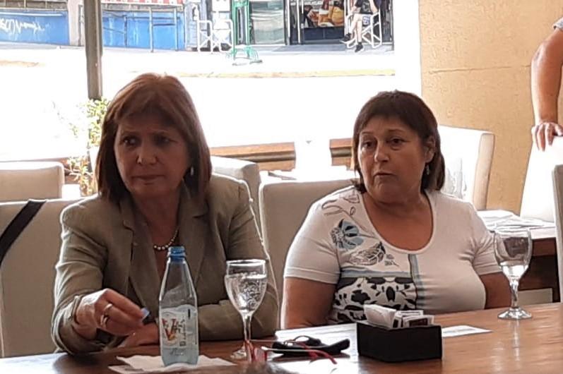 Patricia Bullrich presentó su libro en Luján
