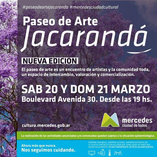 Dos días para el Paseo de Arte Jacarandá