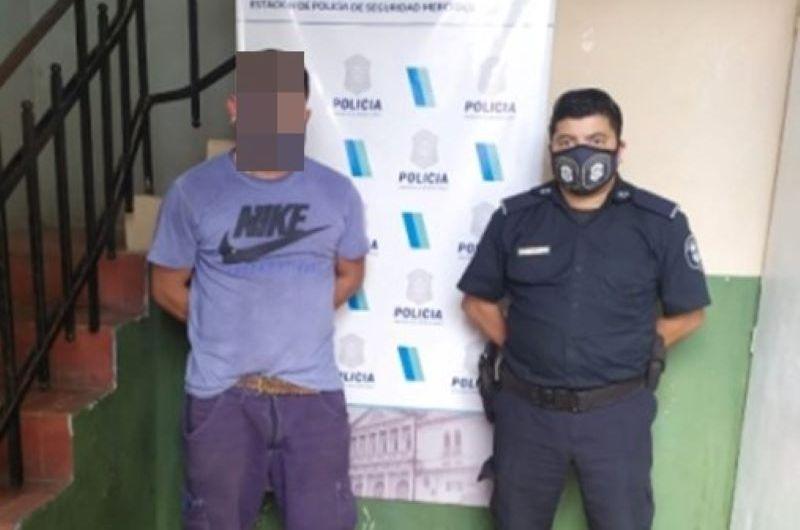De Chivilcoy con pedido de captura detenido en Mercedes