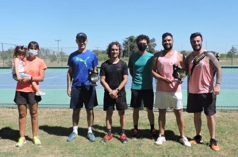 La dupla Falabella-Fernández gana fecha del torneo inaugural en las canchas de tenis municipales