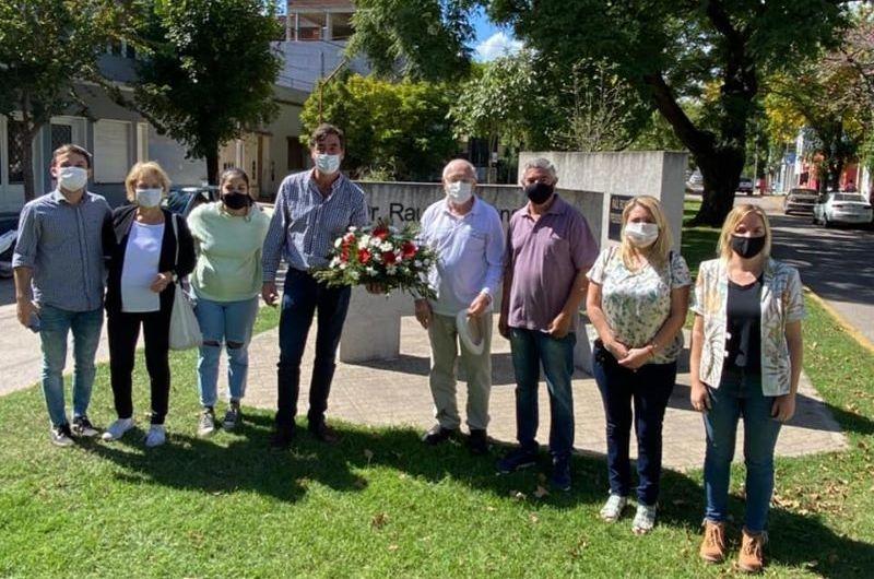 UCR homenajeó a Alfonsín a 12 años de su fallecimiento