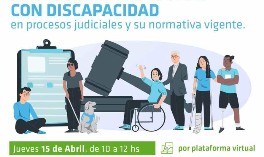 Invitan a charla capacitación sobre justicia y asistencia a personas con discapacidad