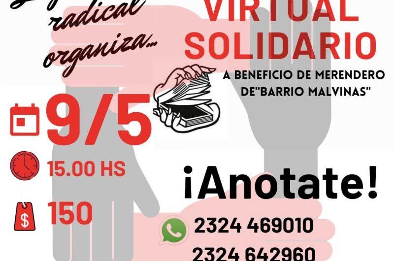 Juventud radical organiza truco virtual solidario