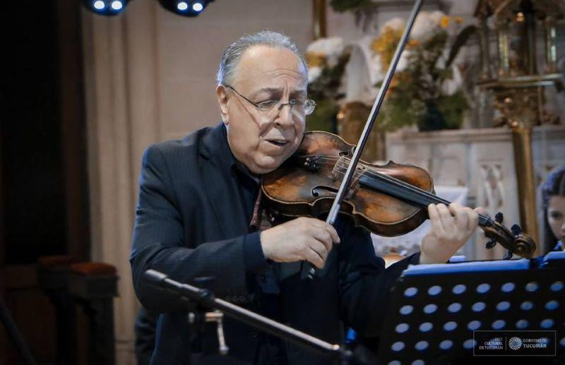 Pro Arte Mercedes presenta al eximio violinista Rafael Gíntoli en su próximo concierto