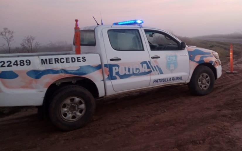 Policía rural logra detener hombre con pedido de captura