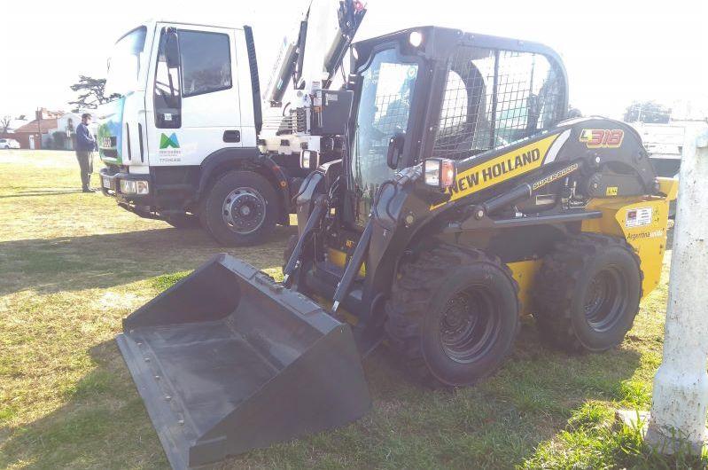 Municipio presentó nueva maquinaria para Servicios Públicos