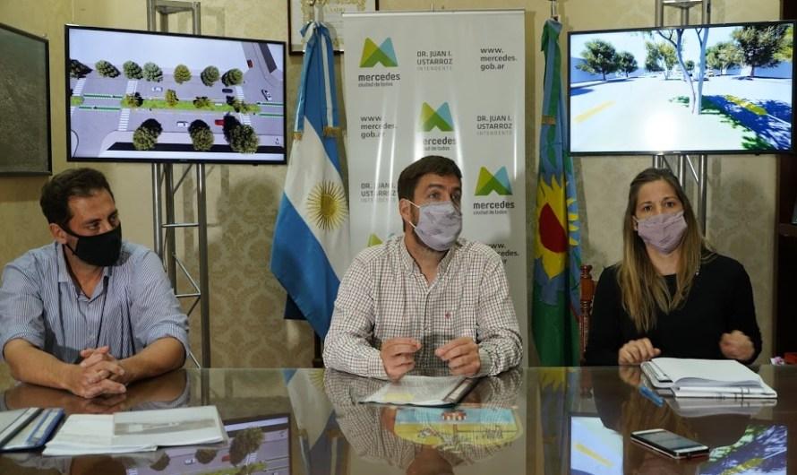 Más obras: Ustarroz presenta y firma inicio de obra de Ciclovía en Avenida 2