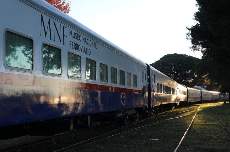 Los días 27, 28 y 29 de agosto estará en Mercedes el Tren Museo itinerante