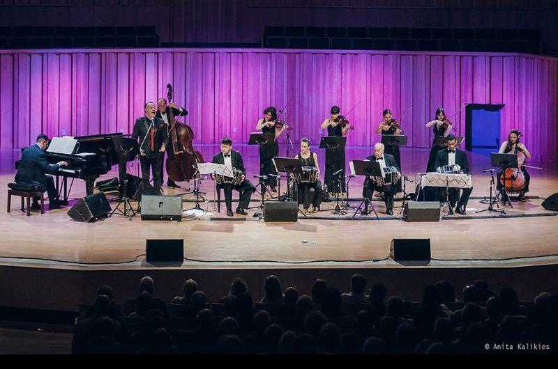 La Orquesta Típica Sans Souci en el ciclo ProArte del Centro de Egresados