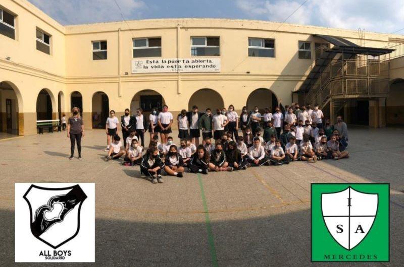 All Boys y el Inst. San Antonio lanzan campaña solidaria