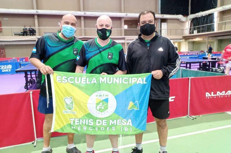 Tenis de mesa:Mercedes presente en el Campeonato Nacional