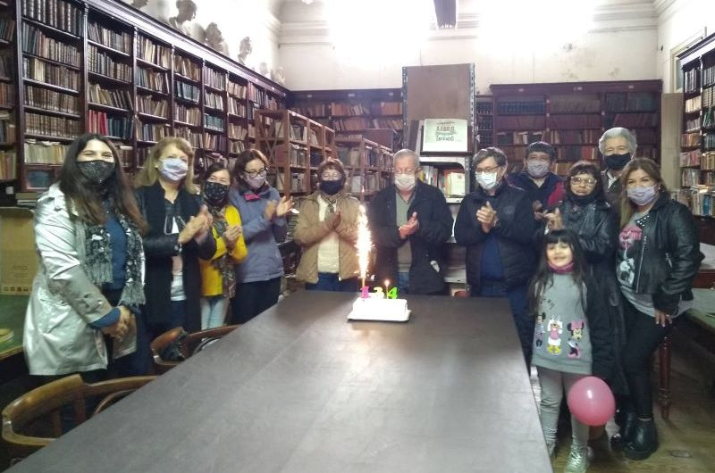 Biblioteca Sarmiento celebra 134 años