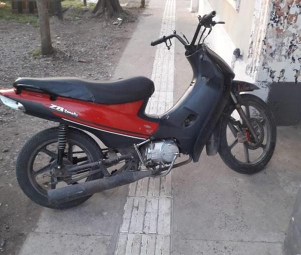 Detenida sospechosa de encubrir el robo de una moto