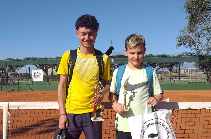 Ramiro Valle y Pedro Rebagliati campeones en tenís