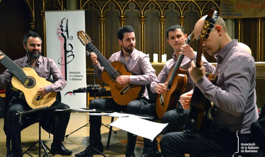 Ciclo Pro Arte Mercedes presenta al Cuarteto de Guitarras In Crescendo