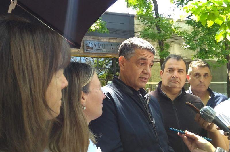 Jorge Macri visitó Mercedes en apoyo a los candidatos locales