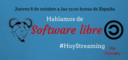Software libre en HoyStreaming