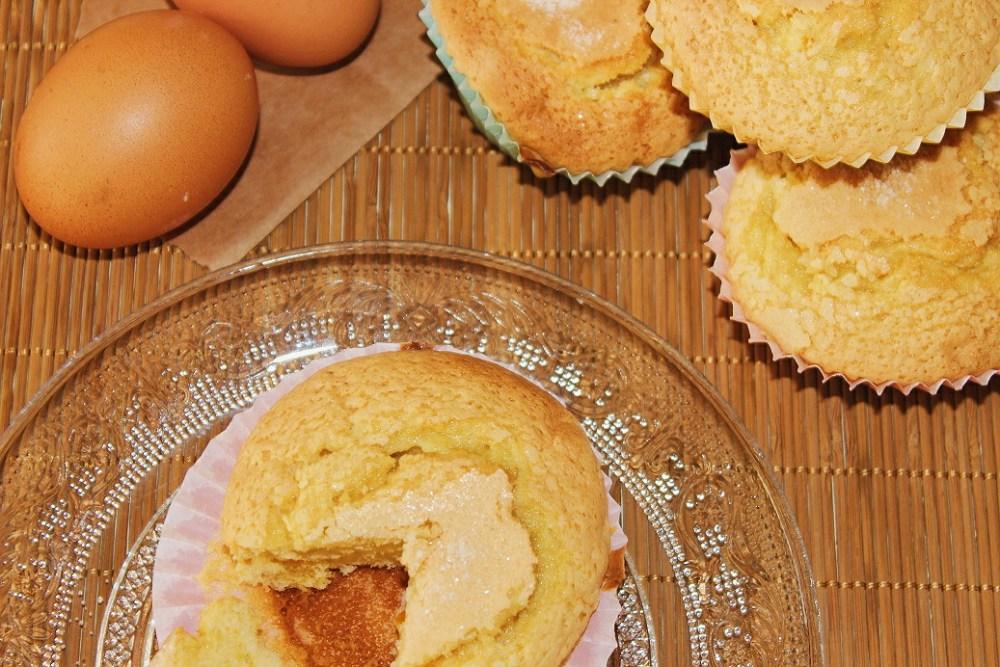 magdalenas caseras huevos