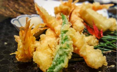 tempura de verduras soja