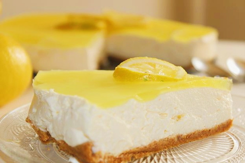 tarta mousse limon