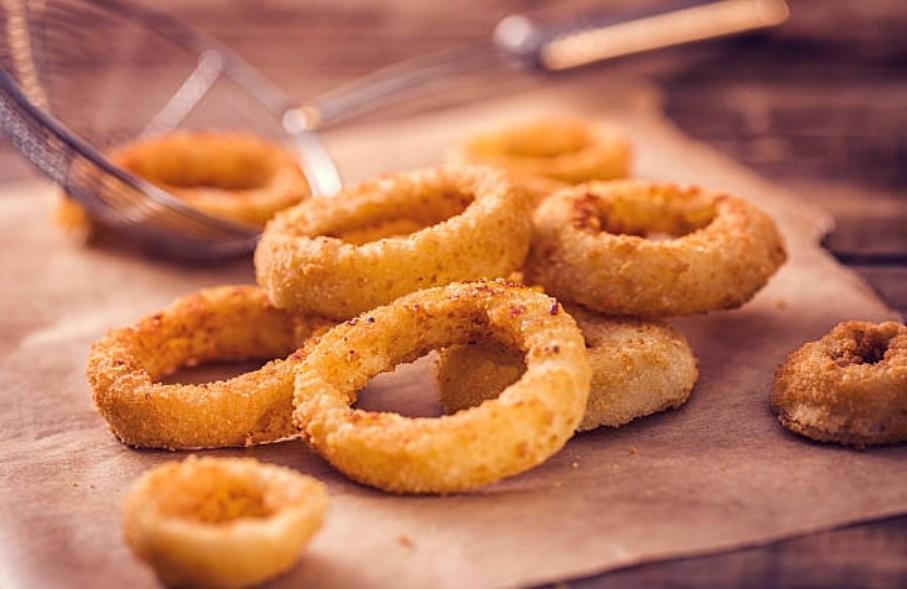 aros de cebolla receta