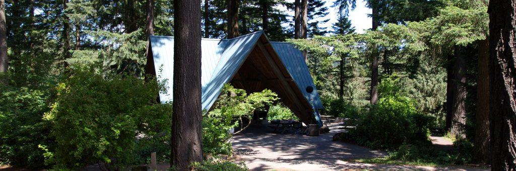 Stevens Pavilion Hoyt Arboretum