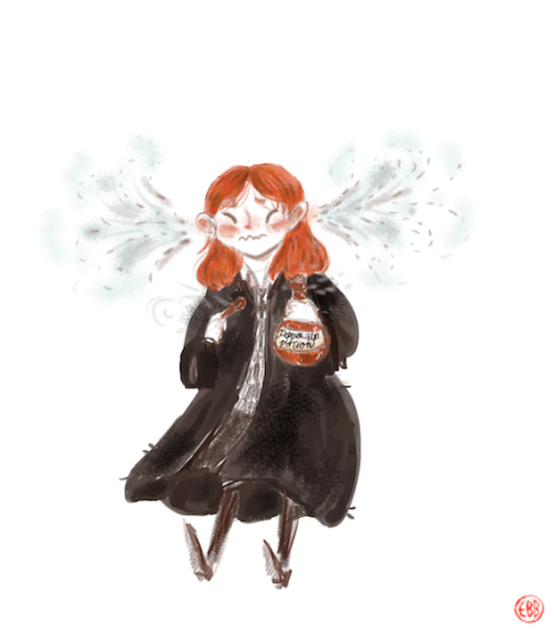 Pepperup Potion The Harry Potter Lexicon