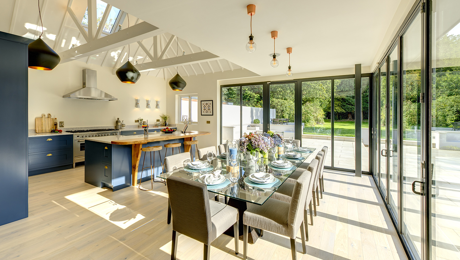 Coniston, Edwardian house with a contemporary heart on Burkes Rd Beaconsfield