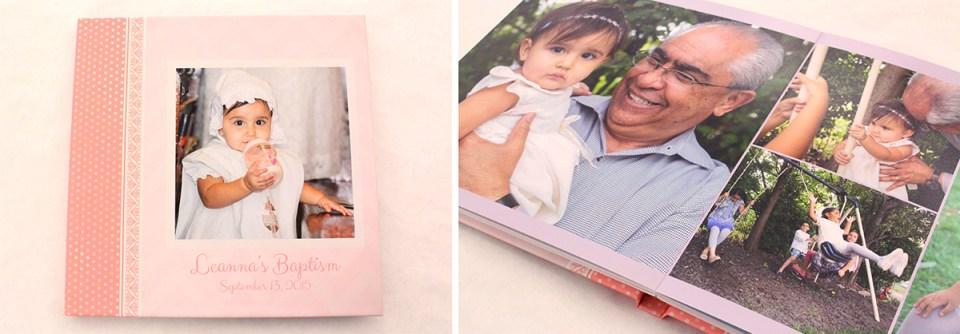 Baptism Photography Album