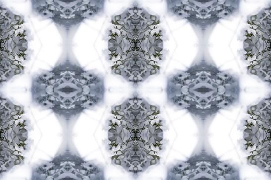 Geometric Snow Art