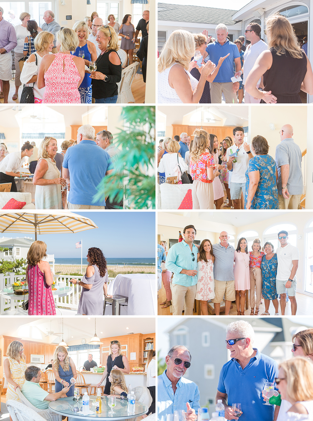 Cocktail Hour at Vow Renewal