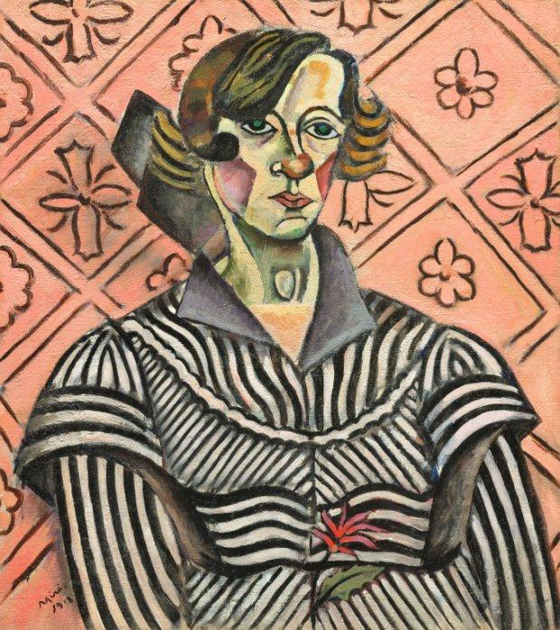 Joan Miro Portrait of Juanita Obrador