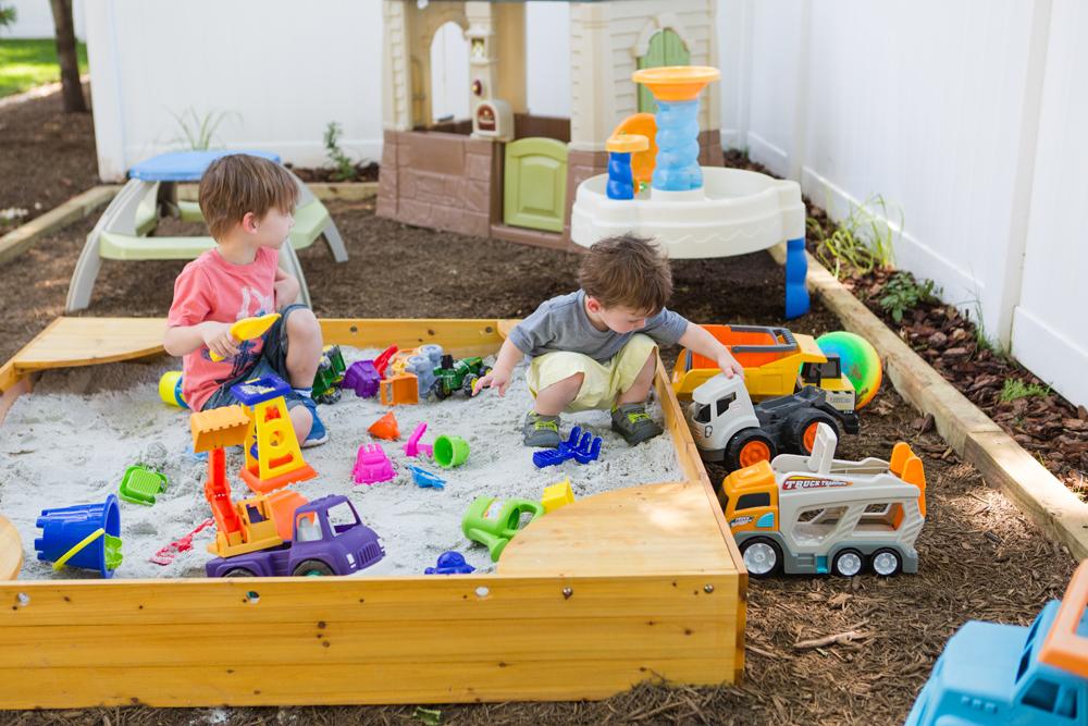kids backyard birthday party