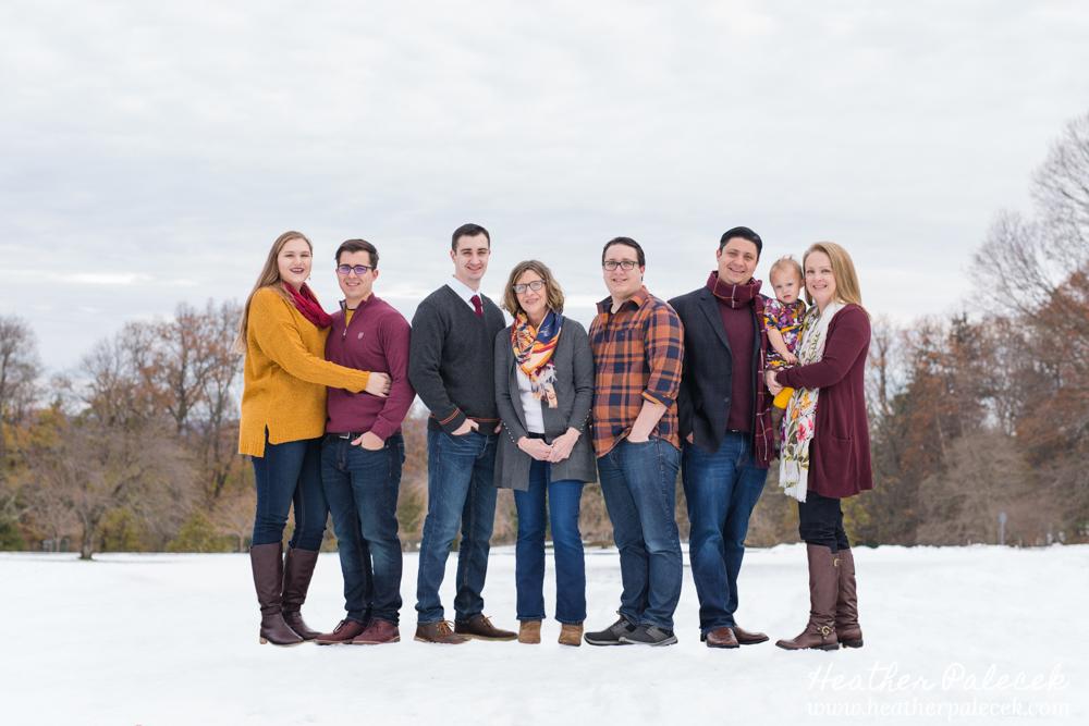 Winter Family Portraits