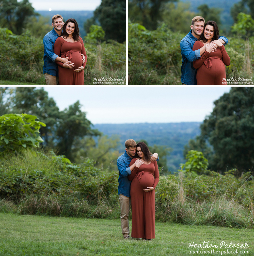 Fall Maternity Session Photograph