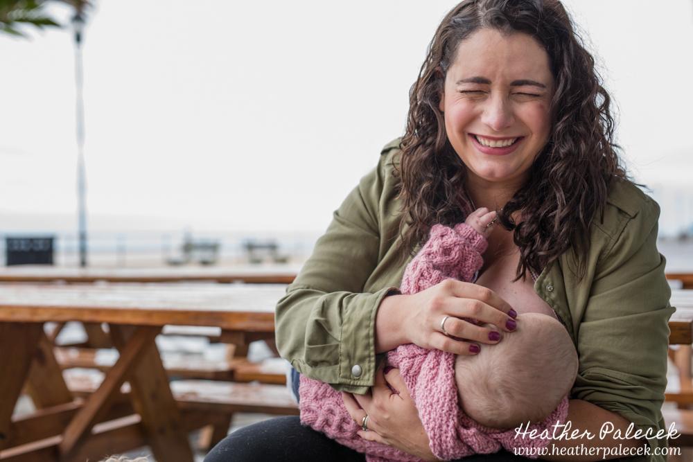 breastfeeding on asbury park boardwalk