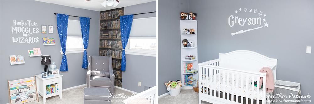 Harry Potter themed nursery
