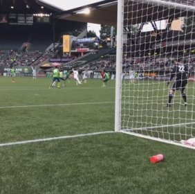 Villyan Bijev nets the winning goal against rivals Seattle Sounders!