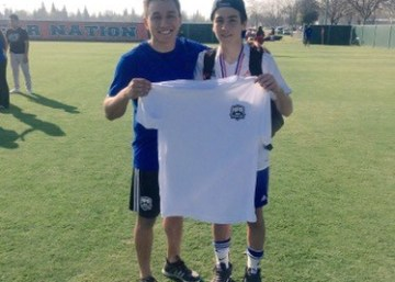 HPA Scolar Athlete Johnny Bronze scores the game winner for Clovis Crossfire as they clinch State Cup title!