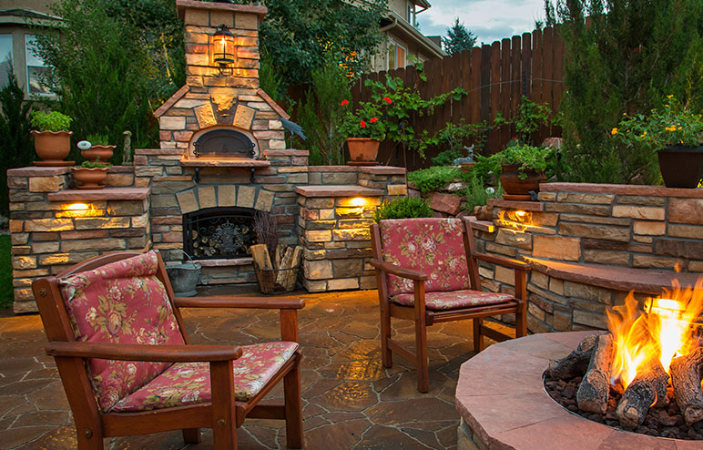 Outdoor Kitchen | Outdoor Living | Patio | HPBA on Outdoor Patio With Pizza Oven  id=50284