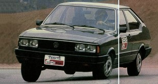 Teste do Passat LS Village 1986