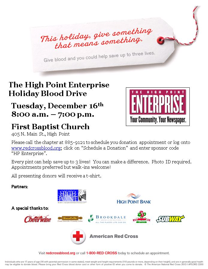 2014-12-16 Red Cross Blood Drive