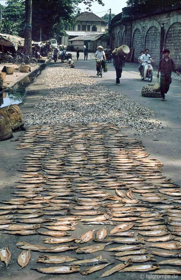 Gầm cầu - phố Phùng Hưng nhỏ, Hà Nội - Việt Nam 1991-1993 @Hans-Peter Grumpe. Bản quyền thuộc tác giả.
