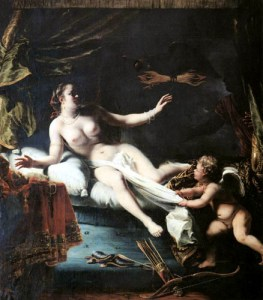 Seduction by Zeus and birth of Dionysus. Ferdinand Bol