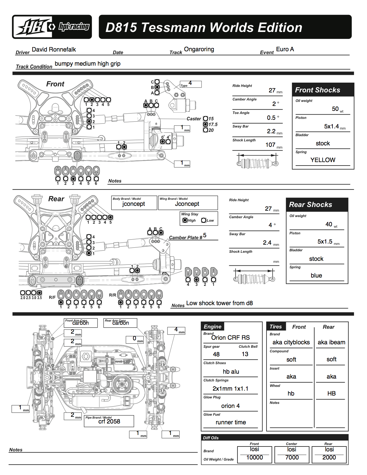 Ford Mustang Parts Catalogue