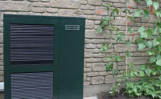 Air source heat pump system