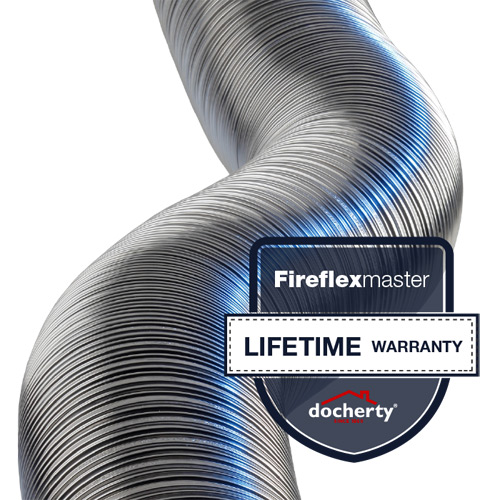 Fireflexmaster flexible flue liner products gets lifetime warranty