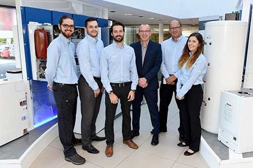 The new Controls & Connectivity team