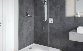 The answer to an almost flat shower