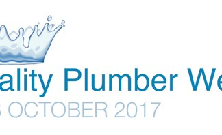 Quality Plumber Week 2017 will run between October 2-8.